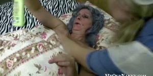Mature Has A Busty Nursing Assistant