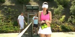 Sorry, Jennifer dark tennis question not
