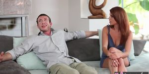 Twistys - Kristine Crystalis starring at My Ass Comes With The House