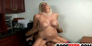 Busty blonde Jordan Jolie gets Drilled