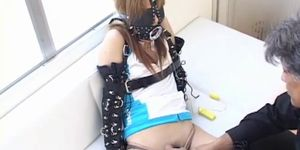 Extreme Japanese BDSM With Masked Asian Teen