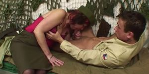 Pierced Pussy Senior Army Officer Reprimands A Soldier Porn Videos