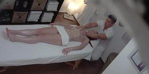 Redhead Creampie Massage