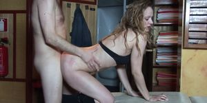 Real dutch whore pounded after giving a BJ
