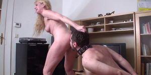 Femdom Girls order guys to lick their ass