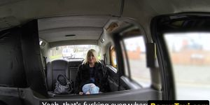 Real british taxi babe bentover and fucked Porn Videos