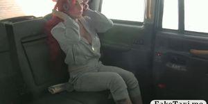 Huge boobs redhead passenger cum sprayed Porn Videos