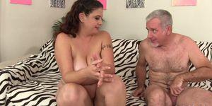 Chubby Brunette Kailie Raynes Loves a Hard Dick Inside Her