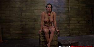 Busty slave fetish rammed