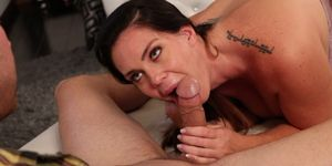 Alison Tyler gives a hot blowjob Porn Videos