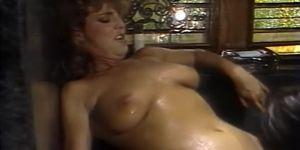 Wet bodies of lesbians in ecstasy