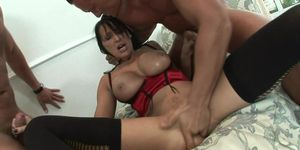charismatic brunette pounded on pool tablemp4