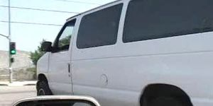 Ava Devine fucking in a van