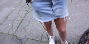 Picked up in public and banged pov