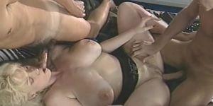 Double anal Giant boob pornstar fucking