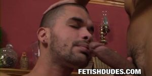 Danny Lopez and Gabriel Dalessandro - BDSM Cock Teasing