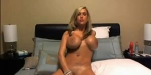 Sexxy Blonde Toys On Cam 2