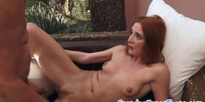 European Redhead Drilled By A Pensioner