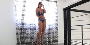 Alison Tyler Nude in the pool