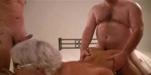 hot amateur gangbang in germany part 4 of 6 - german - csm