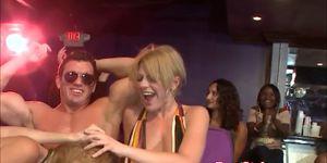 My real skanky GF blows stripper