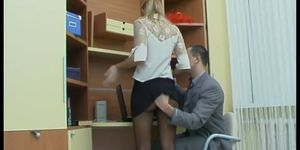 Girl porn sex - Sex in the office with russian girl
