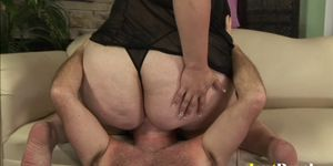 BBW Angelina has her way of pleasing men Porn Videos