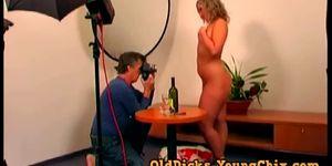 Blonde Hazel Lets Her Old Photographer