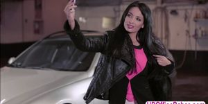 the french Anissa Kate in a raunchy public sex