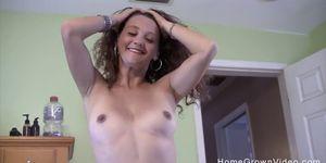 Slutty milf sucks and fucks a fat guy in homemade video