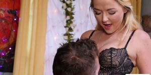 Horny couples Iris Rose and Chad White in 69 position