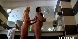 Two cocks for one hot euro bitch Porn Videos