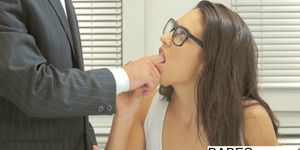 Babes - Office Obsession - Learning the Ropes starring Carolina Abril and Chad Rockwell clip