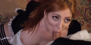 Derrick Pierce anal bangs maid and wife