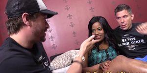 Jizz face black slammed Porn Videos