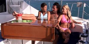 Private: Lucky and Jessica Moore in anal tropical action