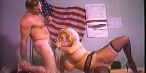Vintage mature blonde Lotta Topp sex scene