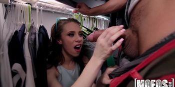Brunette in Knee-Highs Takes Dick video starring Anya Olsen - Mofos
