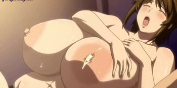 Anime chick with massive boobs