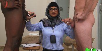Cock Scientist Mia Khalifa