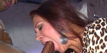 OMG my ex gf cocksucking stripper at party