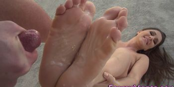 Fucked babes soles jizzed