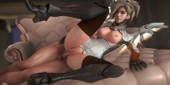 Overwatch fap compilation for the fans