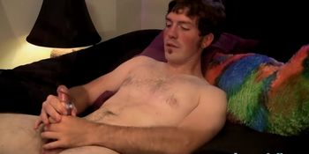 Super horny Brady Mississippi jerks off and squirts cum