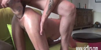 XXL double fist and dildo fucked amateur