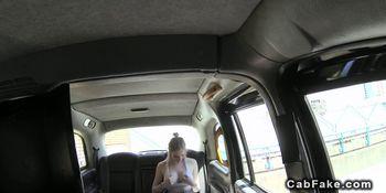 Fake taxi driver pov fucks busty blonde