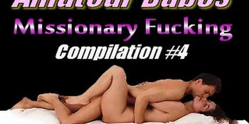 Amateur Babes - Missionary Fucking Compilation vol.4