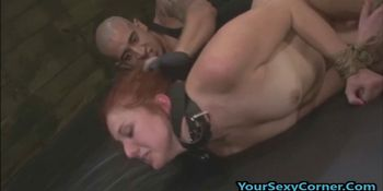 Tied Up Screaming From My Big Dick In Her Ass