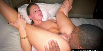 Abigail Macs Husband Sets Her Up With Biggest BBC In The World