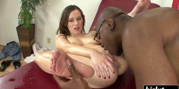 Black dick sucking for Natalie Moore